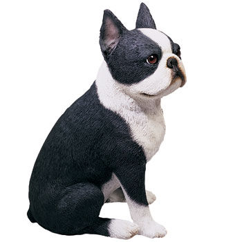 Original Sandicast Boston Terrier Figurine