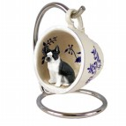 Boston Blue Tea Cup Ornament