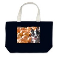 Boston I Love Pumpkins Tote