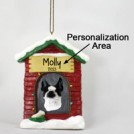 Boston Terrier House Ornament