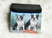 Boston Terriers at the Beach Wallet View 2